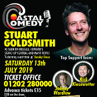 The Coastal Comedy Show with TV Headliner Stuart Goldsmith!