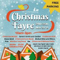Whirlow Hall Farm Christmas Fayre 2018 sponsored by GRI Group