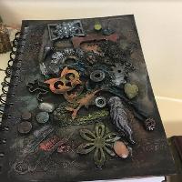 Crash Course Crafts  - Steampunk Notebook