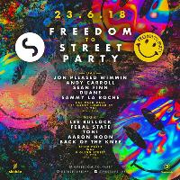 Freedom To Street Party w/ Jon Pleased Wimmin & Andy Carroll