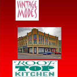 Alfies Antiques Market and Rooftop Kitchen Terrace Tues-Sat