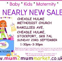 Mum2mum Market (Cheadle Hulme) Nearly New Sale