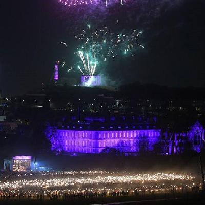 Edinburgh Hogmanay Snow Ball 2019