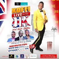 Koffi Live In The UK