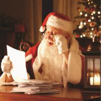 Father Christmas visits Wardown