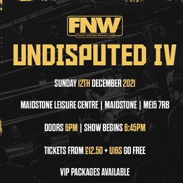 Fight! Nation Wrestling presents Undisputed IV