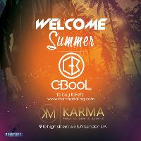Welcome Summer Party with DJ C-bool