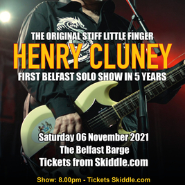 Henry Cluney live on The Barge