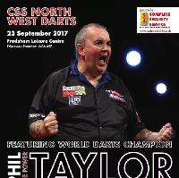 CSS North West Darts Masters featuring Phil 'THE POWER' Taylor
