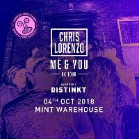 WAH w/ Chris Lorenzo (All Night) & Distinkt