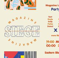 SIEGE Magazine Launch PARTY