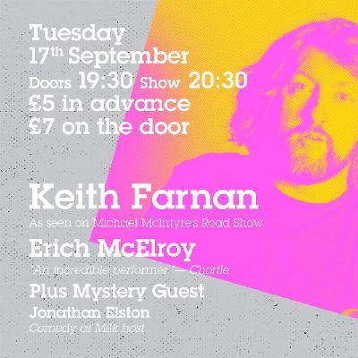 Keith Farnan Headlines Comedy at Milk