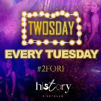 Twosday Tuesdays at History