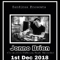 Sandinos Presents : Techno Legend JONNO BRIEN [Intec/Tronic/CR2]