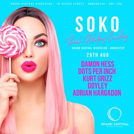 SOKO Official Club Tour Bank Holiday Sunday 29.8.21