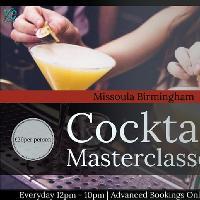 Cocktail Masterclasses Missoula Birmingham