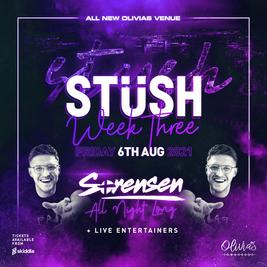 STUSH week 3 at Olivia's