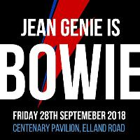 Leeds United Presents Jean Genie is Bowie