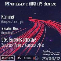 dec soundscape x loose lips showcase