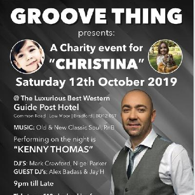 "Groove Thing Charity Event for ""CHRISTINA """