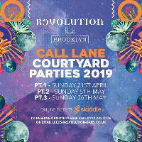 Call Lane Courtyard Party: Bank Holiday Sunday 26th May