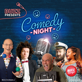 Buzz Presents... Comedy Night (Peterborough)