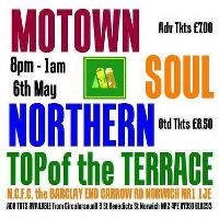 Motown, Soul, Northern at TOP of the Terrace NCFC