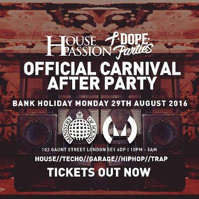 The Official Carnival Afterparty - Ministry of Sound