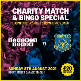 Jonny Bongos Charity Football & Special Event Bingo