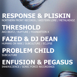 Humans on Wax x Subculture: Response & Pliskin & Threshold