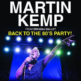 MARTIN KEMP DJ SET – BACK TO THE 80'S PARTY