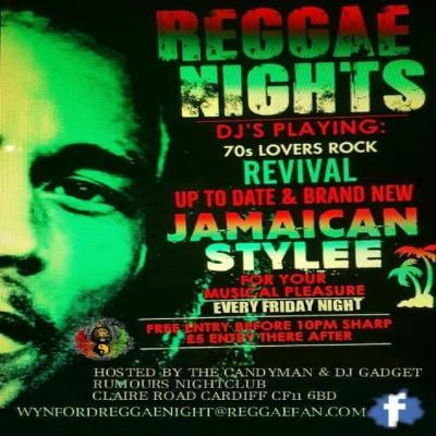 Wynford Reggae Night | Rumours Nightclub Wynford Hotel