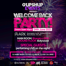 Welcome Back Party | 2 Rooms | Bhangra X Urban X Bollywood