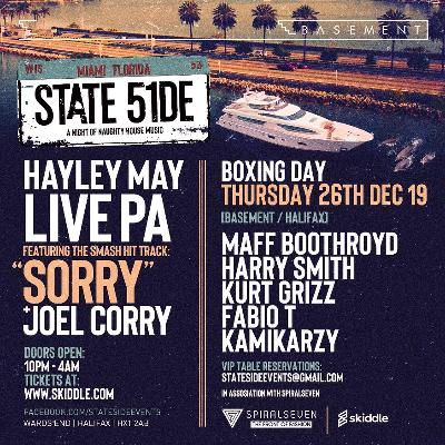 Stateside Boxing Day - [Hayley May] LIVE PA - SORRY & How I Feel