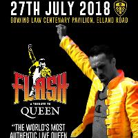 Leeds United Presents Flash - The ultimate Queen Tribute