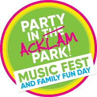 Party in Acklam Park 2019