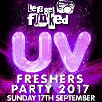 Huddersfield Uni Freshers UV Party 2017