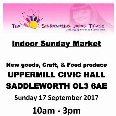 The Samantha Jones Trust Sunday Markets