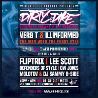 high focus present: dirty dike + verb t & illinformed Album Tour