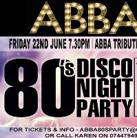 Abba tribute & 80s party night