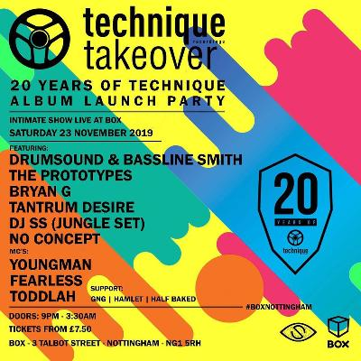 20 Years of Technique Album Launch Party