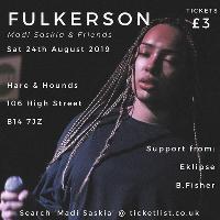 FULKERSON: Live (Madi Saskia & Friends)