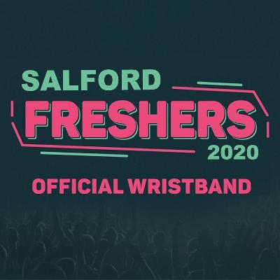 Salford's Official Freshers Week Wristband 2020 is SELLING FAST 8 NIGHTS | 12 VENUES | 1 WRISTBAND gives you free entry to the BIGGEST fresher events