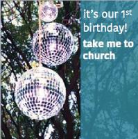 1st birthday party | take me to church