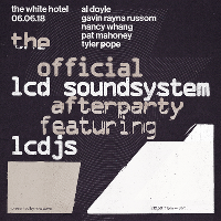 The official LCD Soundsystem Afterparty