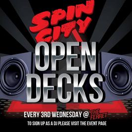 Spin City: Open Decks