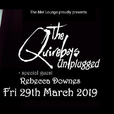 The Quireboys -Unplugged-35th Anniversary Tour+Rebecca Downes