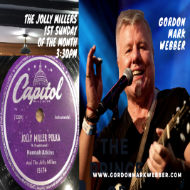 Music at the Millers with Gordon Mark Webber