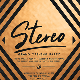 STEREO GRAND OPENING PARTY