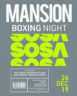 Boxing Night With Special Guest Dj Sosa